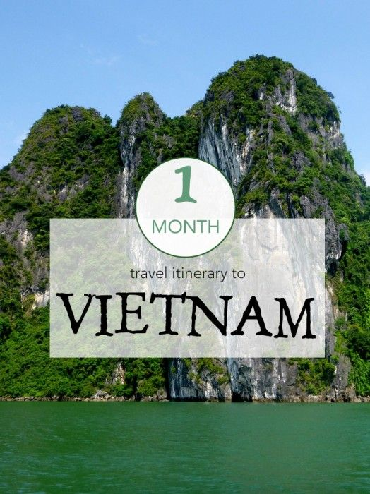 Travel in Vietnam // A 1-month travel itinerary focusing on Saigon, the Mekong Delta, Nha Trang, Hoi An, Hanoi, Halong Bay and Sapa. One of my favourite destinations in Southeast Asia!