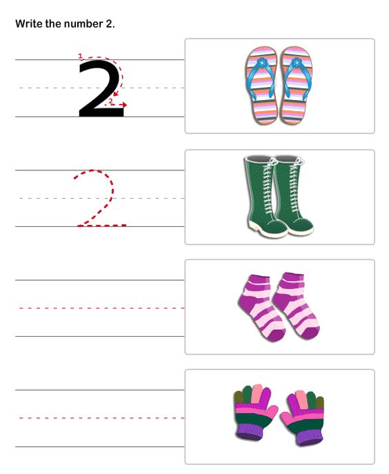 Pre-K Number Worksheets | Number Writing Worksheets , Write ...
