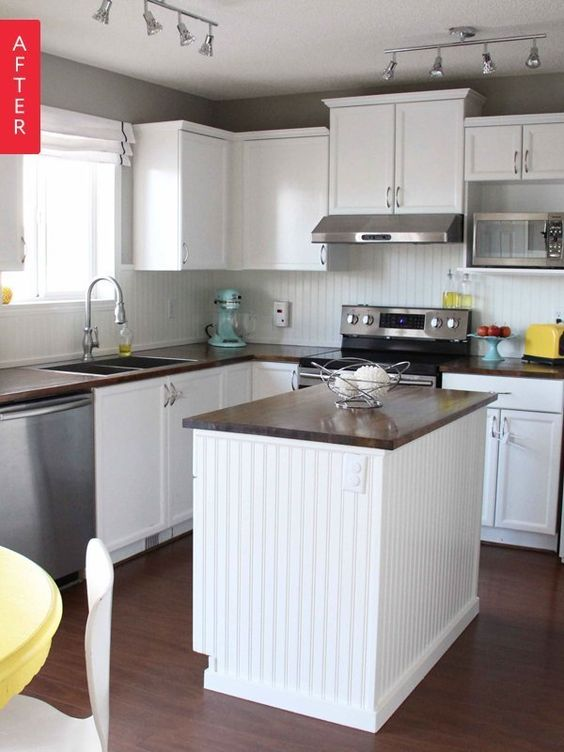 Before & After: 10 Wallet-Friendly Kitchen Renovations — Best of 2014 | Apartment Therapy