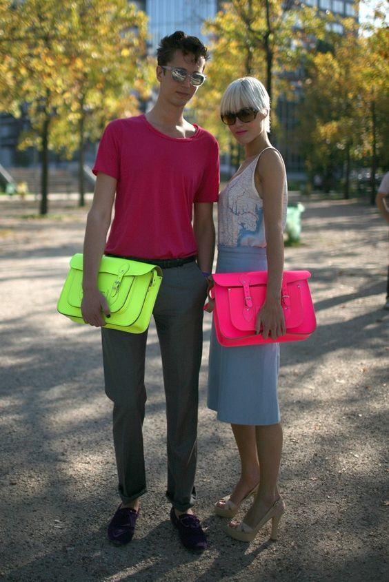 his & hers cambridge satchels - paris
