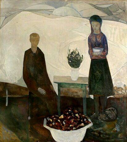 Bouquet. 1964 Kai fjell