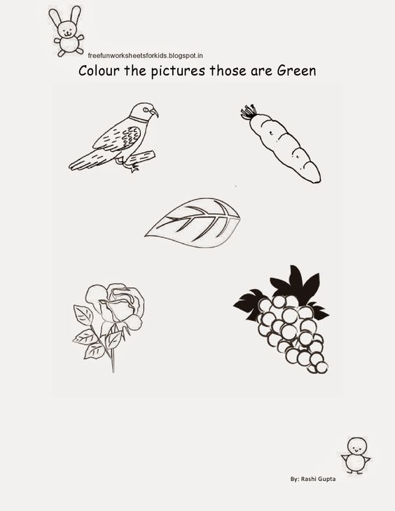 Free Fun Worksheets For Kids: Free Printable Fun Worksheets for ...