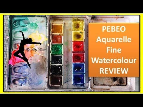 Youtube Video Pebeo Aquarelle Fine Watercolor Review Watercolor