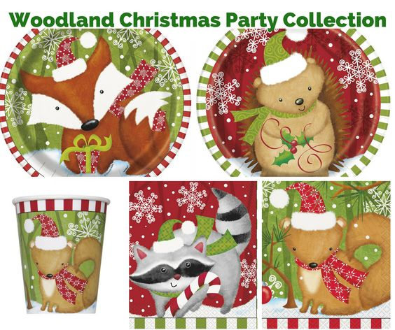 Woodland Christmas Party