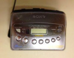 Not a guitar, but great to listen to guitar solos on. #walkman #nostalgia #sony