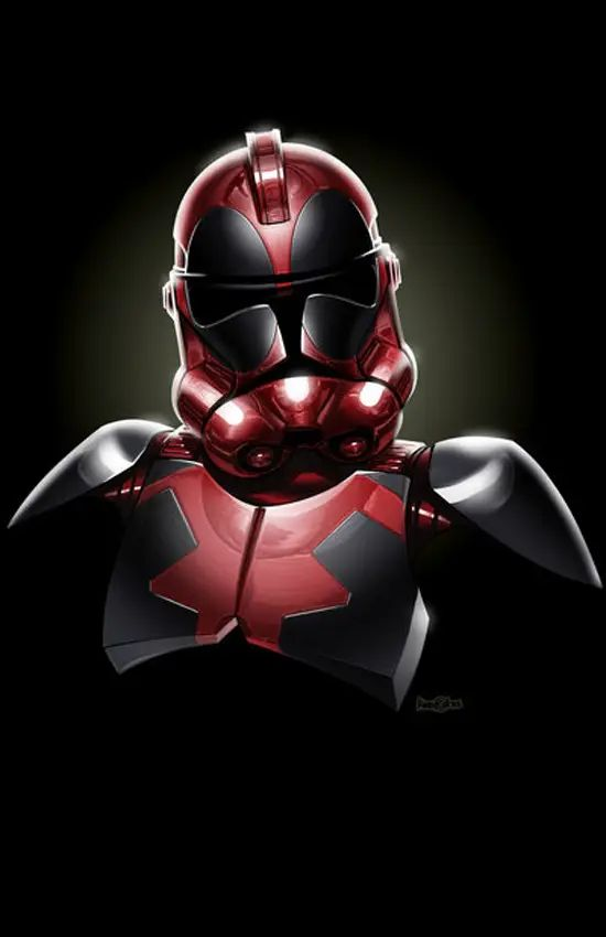 Stormtroopers as Deadpool
