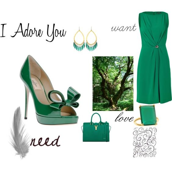 I Adore You by seidsonstephens on Polyvore