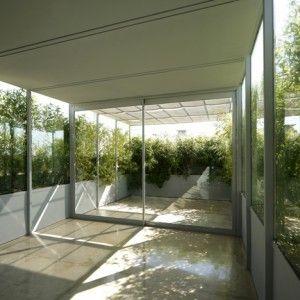 Foliage-clad pavilion by Adamo-Faiden creates a home on a disused roof