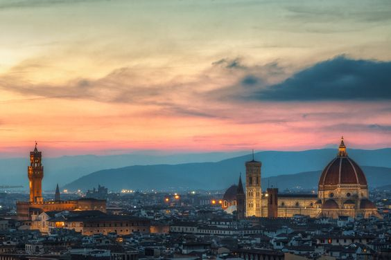 Florence, World Heritage site (UNESCO). Must see.