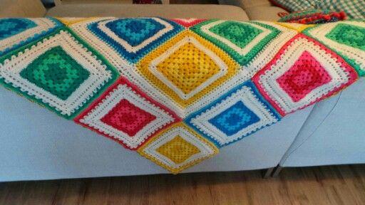 Mijn vierkante deken