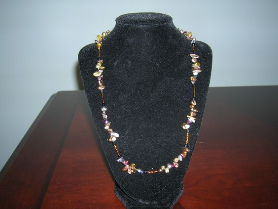 Pearl Chips  necklace