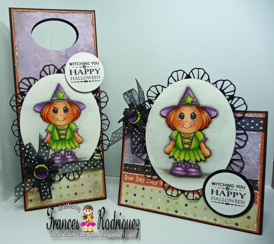 Witch kiddles stamp from www.digitaldelightsbyloubyloo.com:
