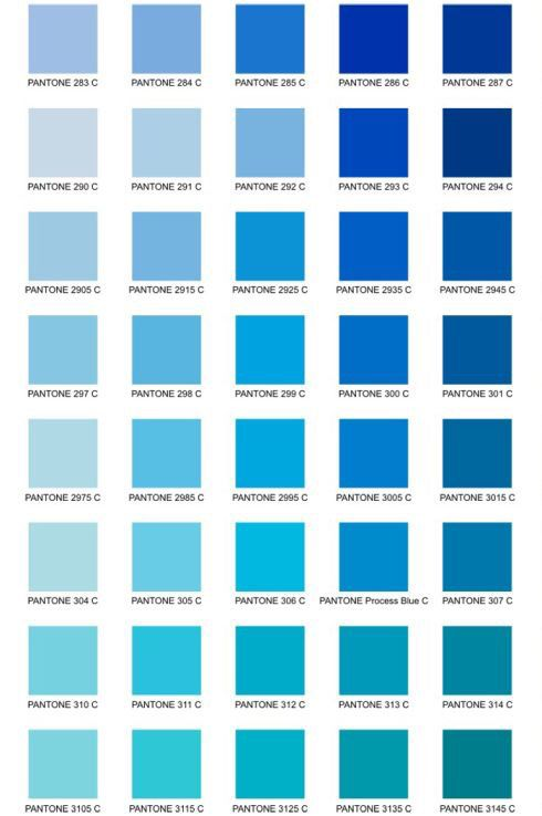 Pin By Evelyn Smith On Decoracion Blue Paint Colors Pantone Colour Palettes Pantone Color Chart