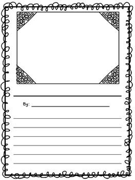 student writing paper template