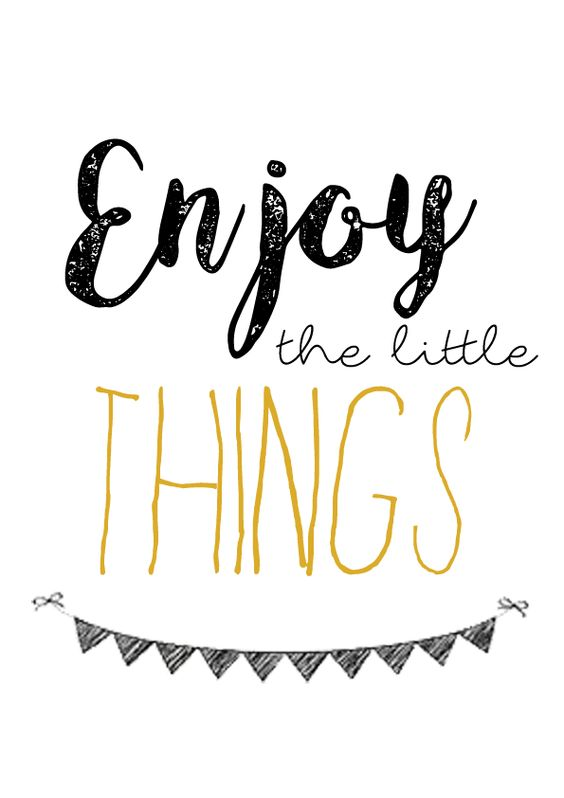#morningthoughts #quote  Enjoy the little things