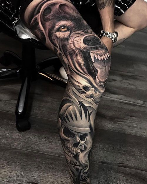 125 Best Leg Tattoos For Men Cool Ideas Designs 2020 Guide Best Leg Tattoos Leg Tattoo Men Leg Sleeve Tattoo