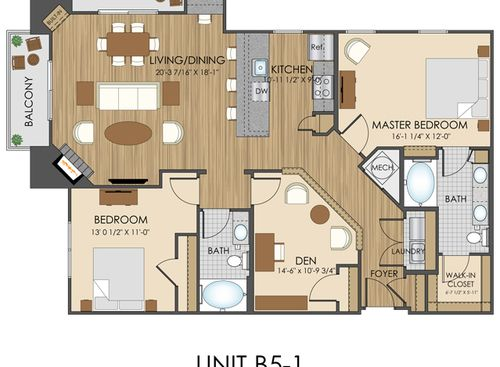 View Our Spacious Floor Plans At Hidden Creek Apartments In Gaithersburg Md Small House Plans Apartment Floor Plans Micro House Plans