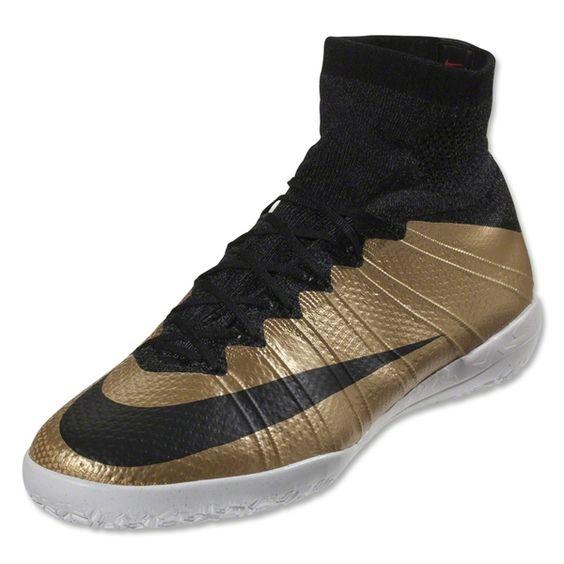 Nike Mercurial X Proximo Street TF (Metallic Gold/Black)