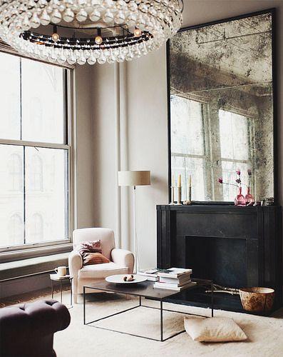 {décor inspiration : a manhattan loft, interior design by ochre}