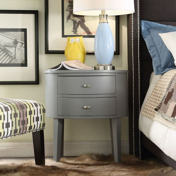 Canterbury 2 Drawer End Table