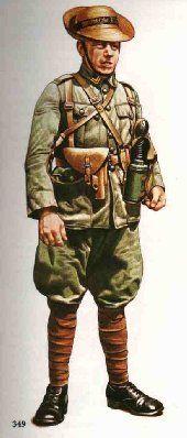 Esercito Olandese - Sergente Maggiore, Royal Netherlands Marines, 1942