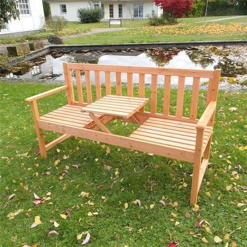 Gartenbanke Mit Integriertem Tisch Klapptisch Klapptisch Garten