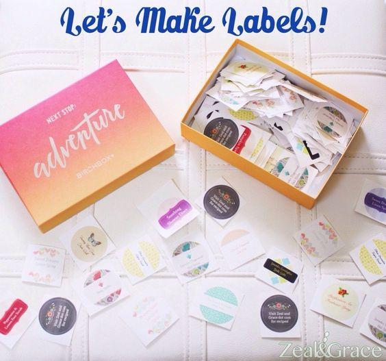 Let's Make Labels!
