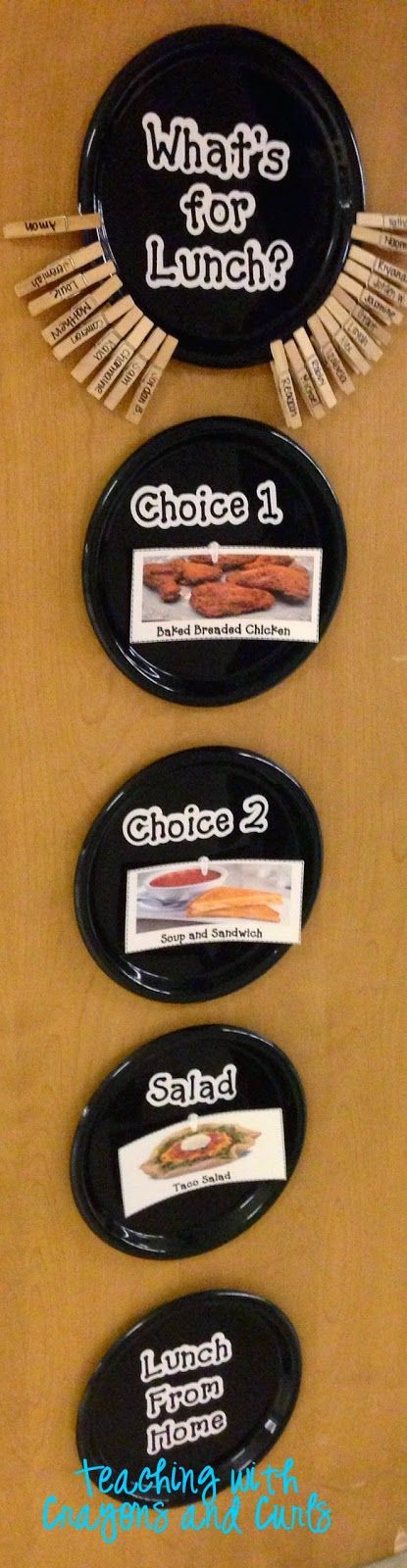 Wordless Wednesday- Lunch Choices
