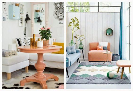 Un color: el melocotón | Decorar tu casa es facilisimo.com