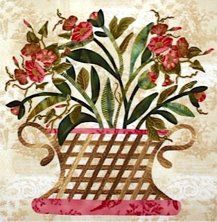 Baltimore Garden Quilts: Cynthia in Texas - Broderie Perse Applique