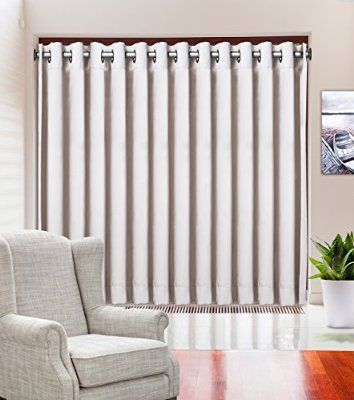 FOR SLIDING GLASS DOOR - $30 Blackout Curtain 100W x 84L Thermal ...
