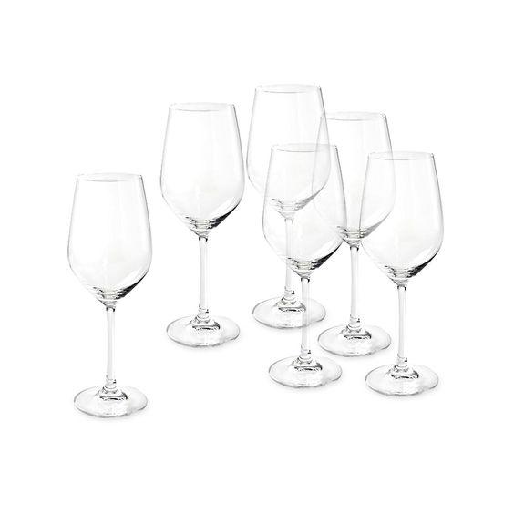 Weißweinglas GRAND GOURMET 6 Stück Glas klar ca 325 ml