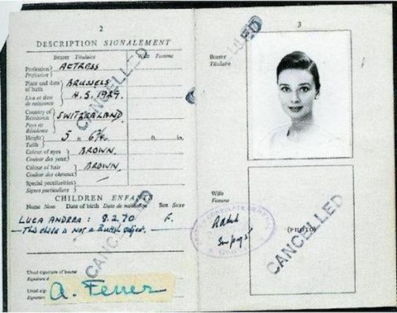 Historic Passports Belonging to Famous People from the Past - My Modern Metropolis