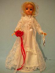 Sindy white wedding 1979