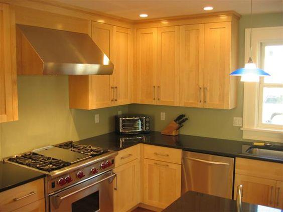 Natural Maple Kitchen Cabinets | natural maple kitchen natural ...