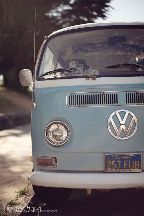 Volkswagen Bus. I want one so bad!!!! Would make a super cute way to deliver homemade yummies!!! - more amazing cars here: http://themotolovers.com
