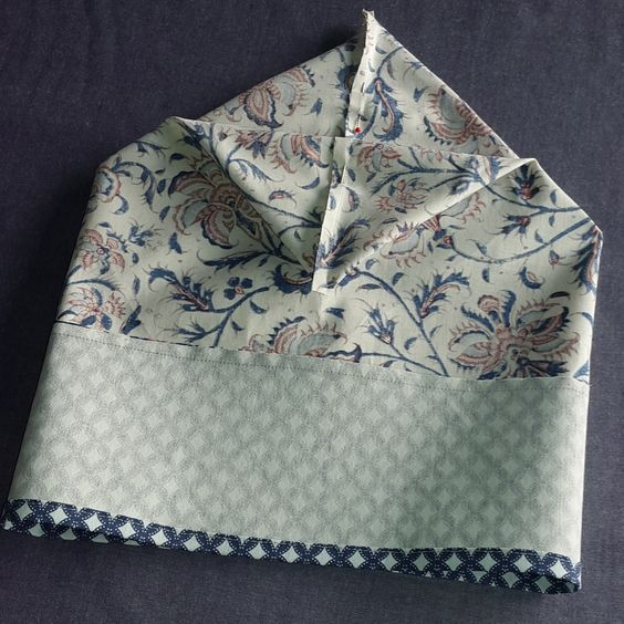 Tutoriel couture vide-poche rapide à coudre en 30 minutes chrono. Retrouvez aussi autres turoriels couture facile sur le blog de Brodeuses et couturières.