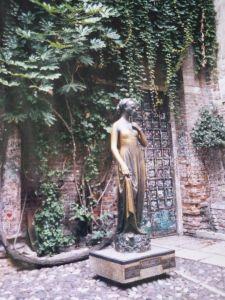 Vérone, maison de Juliette, Italie