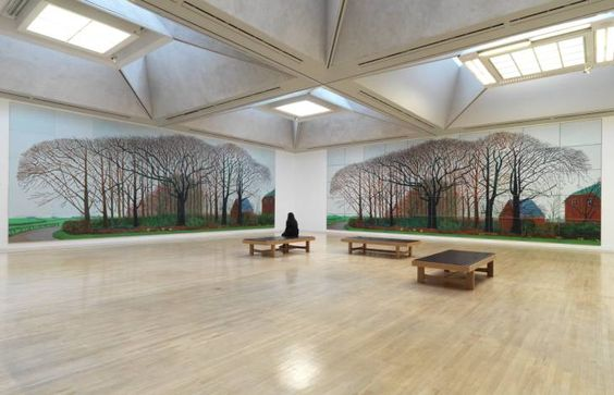 David Hockney - 'Bigger Trees Near Warter Or/Ou Peinture Sur Le Motif Pour Le Nouvel Age Post-Photographique' 2007