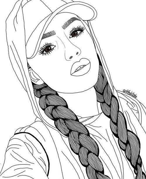 The 25 Best Ideas For Realistic Girl People Coloring Pages Best Coloring Pages Inspir Drawings Pinterest Girl Drawing Sketches Art Drawings Sketches Creative