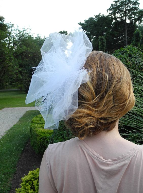 Rice Rafferty bridal veils