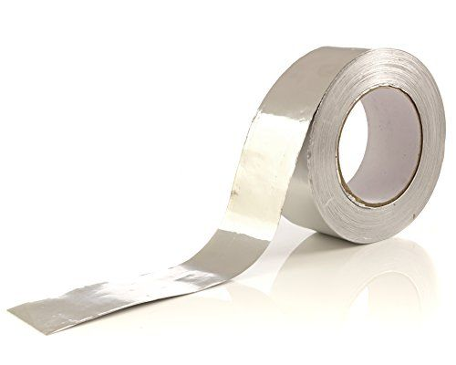 Aluminum Tape Aluminum Foil Tape 1 9 Inch X 150 Feet 3 4 Mil Goo Superior Good Quality High Tensile Power Aluminum F Tape Duct Insulation Insulation