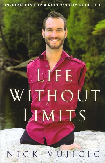 Nick Vujicic - I met him at high school seminar :) - He is a motivational speaker & encourager extrordinaire :) He was born without arms or legs in Melbourne, Australia. After struggling with depression & loneliness he adapted to his situation and found ways to accomplish whatever he set his mind to.
