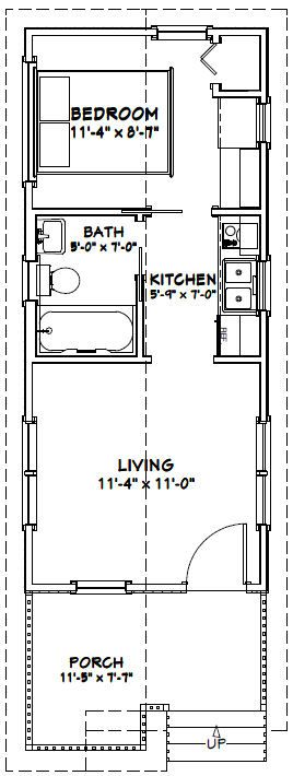 12x28 1 Bedroom House 12x28h1 336 Sq Ft Excellent