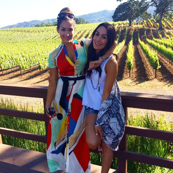"Nikki Bella on Instagram: ""Napa getaway on #TotalDivas tonight! Thank you @thebriebella & @reneeyoungwwe it was much needed!!"""