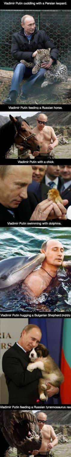 Putins everyday life