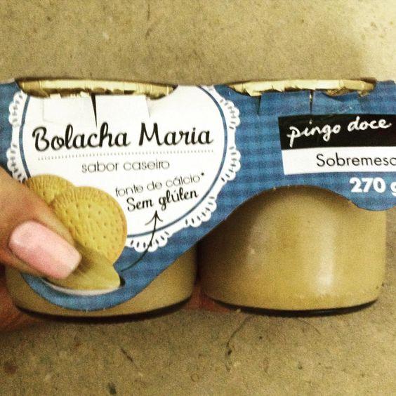 Porque uma sobremesa de bolacha Maria #semgluten e sem #lactose pode sim senhor!!!  #pingodoce #secaredefinir #glutenfree #lactosefree