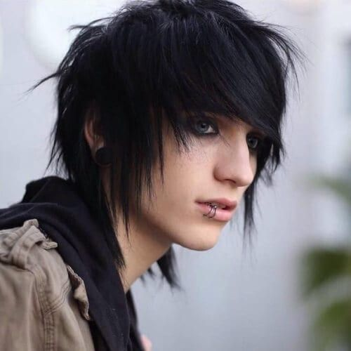 Emo Boy Hairstyle Collection Emo Hairstyles For Guys Short Emo Hair Emo Hair