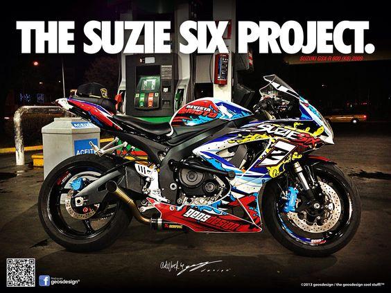 Suzuki Gsxr Racing Stickers