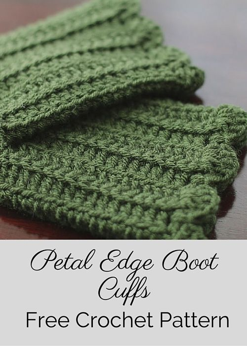 Free crochet, Boot cuffs and Patterns on Pinterest